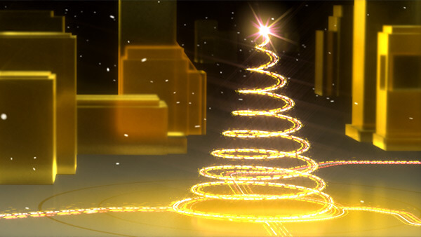 X-Mas Card 2018 | 3D-Animation | Partikelsimulation | Compositing